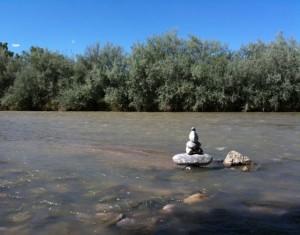 Nat's Cairn in the San Juan River