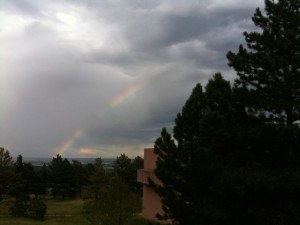 Opening Reception: Rainbow over Boulder