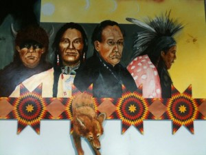 """Reassurances"" by Roger Broer, Lakota (on display at Denver Int'l Airport)"
