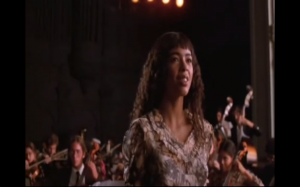 "Performing ""I Sing the Body Electric"" in the 1980 film, Fame."