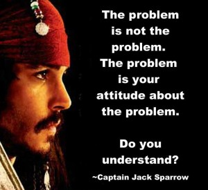 jack sparrow-attitude problem
