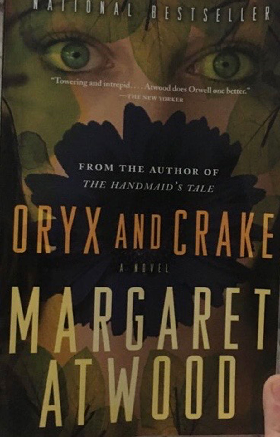#033 Atwood: An Excerpt from Oryx and Crake